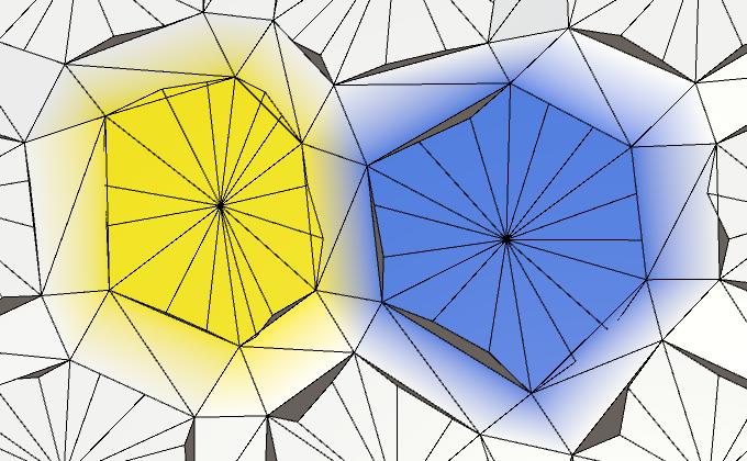 Карты из шестиугольников в Unity: неровности, реки и дороги - 21