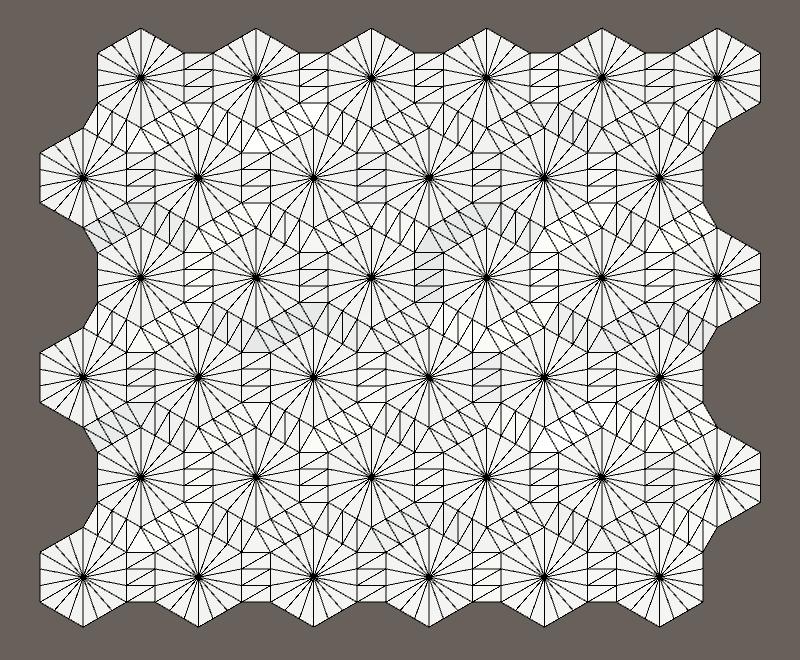 Карты из шестиугольников в Unity: неровности, реки и дороги - 29