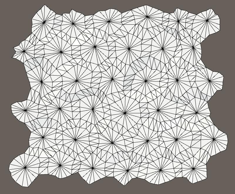 Карты из шестиугольников в Unity: неровности, реки и дороги - 30