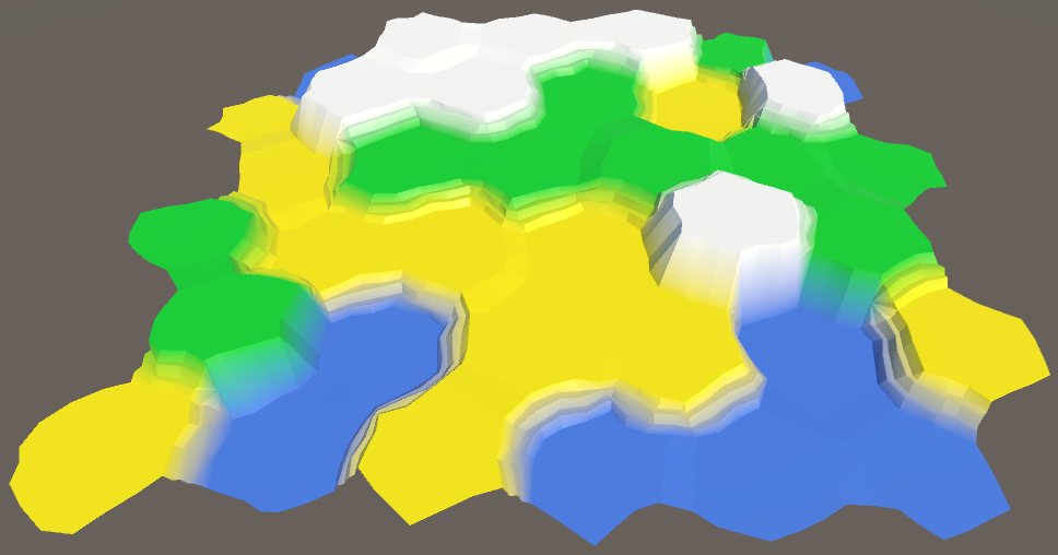 Карты из шестиугольников в Unity: неровности, реки и дороги - 33