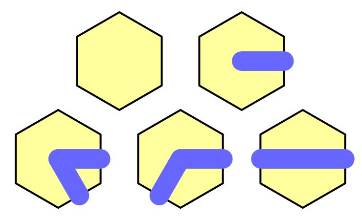 Карты из шестиугольников в Unity: неровности, реки и дороги - 68