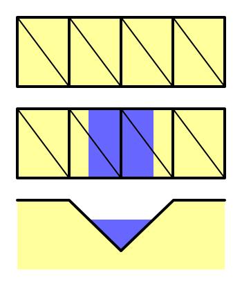 Карты из шестиугольников в Unity: неровности, реки и дороги - 72