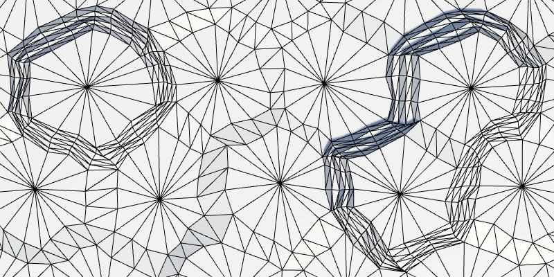 Карты из шестиугольников в Unity: неровности, реки и дороги - 73