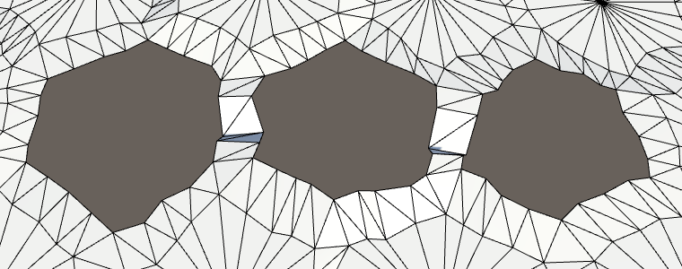 Карты из шестиугольников в Unity: неровности, реки и дороги - 79
