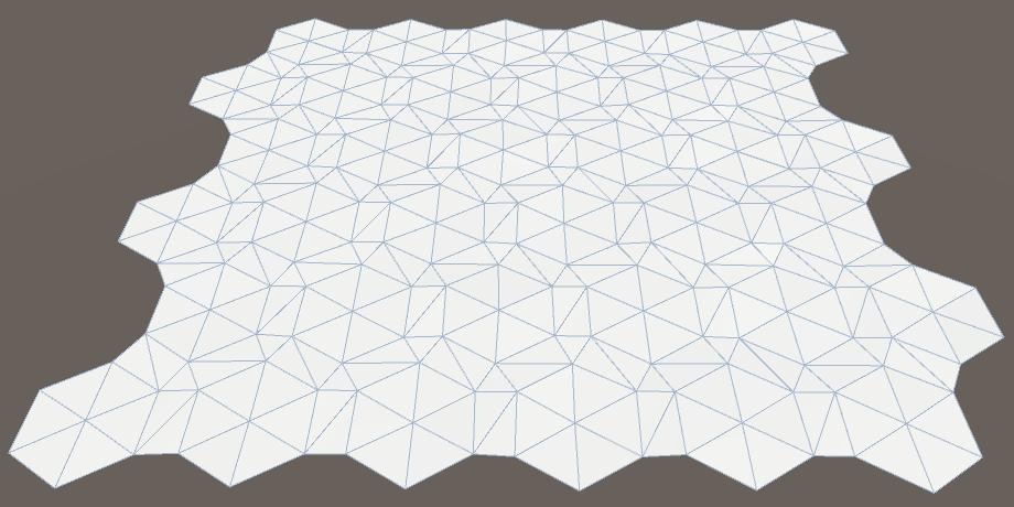Карты из шестиугольников в Unity: неровности, реки и дороги - 8