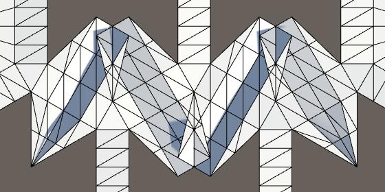 Карты из шестиугольников в Unity: неровности, реки и дороги - 87