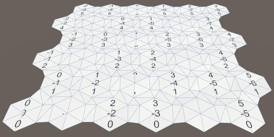 Карты из шестиугольников в Unity: неровности, реки и дороги - 9