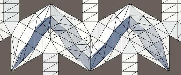 Карты из шестиугольников в Unity: неровности, реки и дороги - 90
