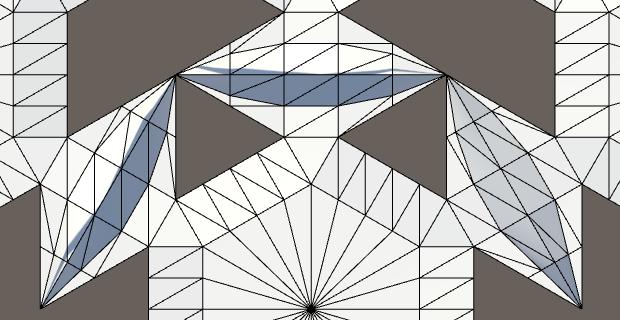 Карты из шестиугольников в Unity: неровности, реки и дороги - 91