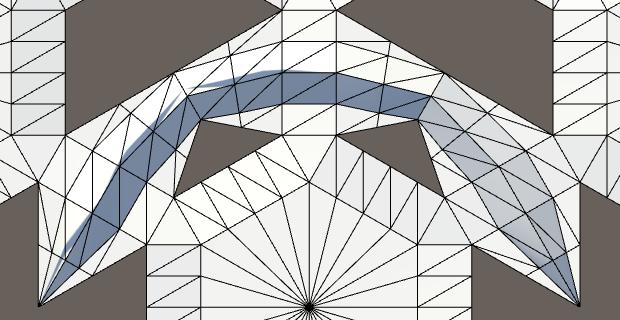 Карты из шестиугольников в Unity: неровности, реки и дороги - 92
