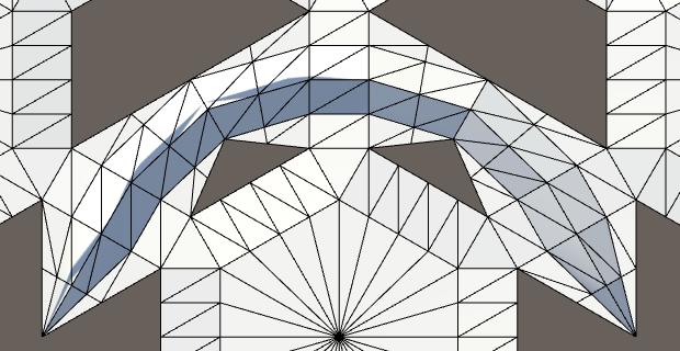 Карты из шестиугольников в Unity: неровности, реки и дороги - 93