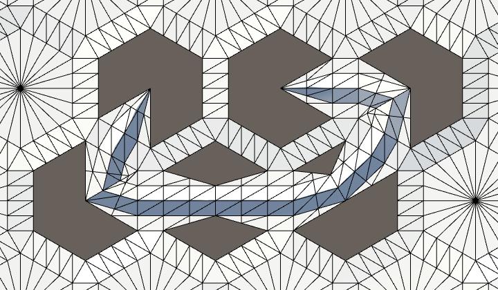 Карты из шестиугольников в Unity: неровности, реки и дороги - 94