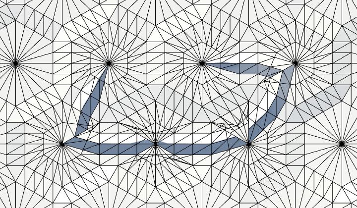 Карты из шестиугольников в Unity: неровности, реки и дороги - 95