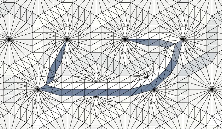 Карты из шестиугольников в Unity: неровности, реки и дороги - 98
