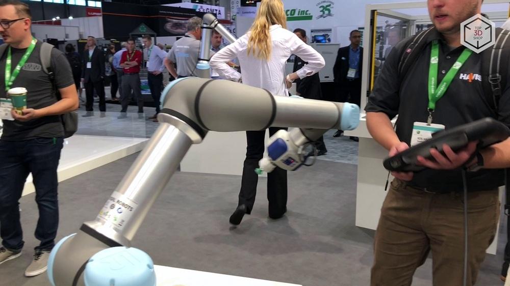 Коллаборативные роботы Universal Robots на выставке IMTS 2018 в Чикаго - 6