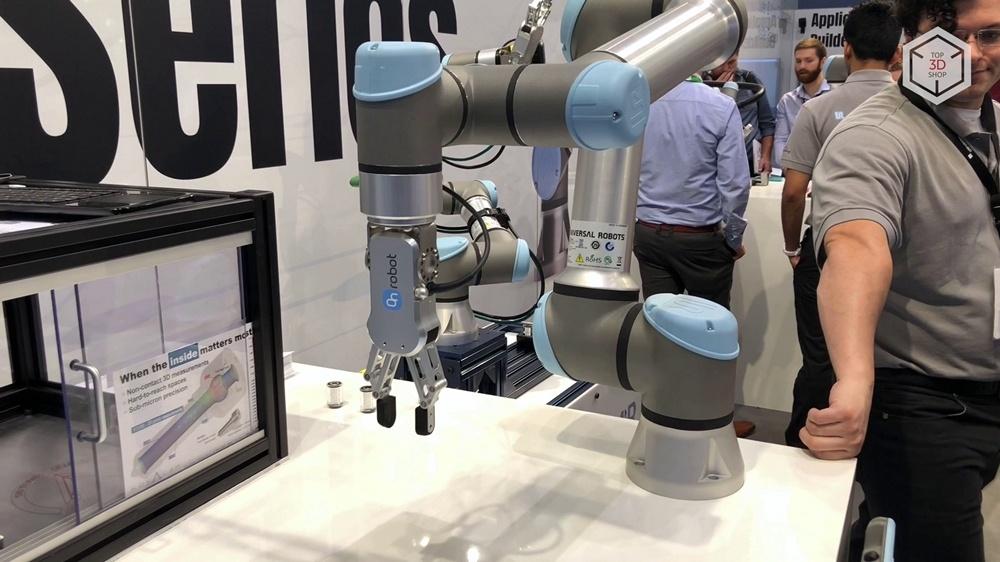 Коллаборативные роботы Universal Robots на выставке IMTS 2018 в Чикаго - 8