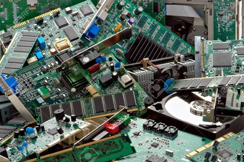 Dell добывает золото из электронных отходов