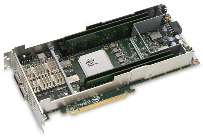 Intel PAC c FPGA Stratix 10 SX — ускоритель для больших задач - 1