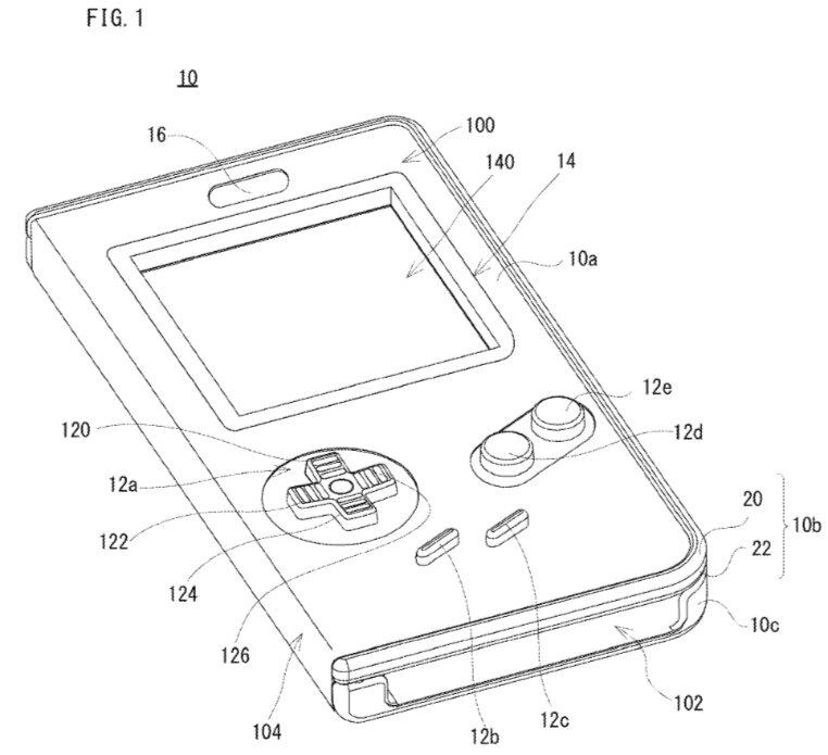 Nintendo патентует чехол — Game Boy - 1