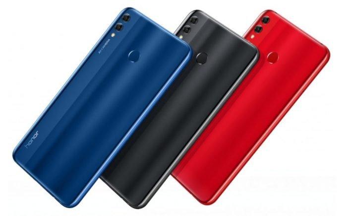 Начались продажи самого мощного варианта смартфона Honor 8X Max с огромным экраном