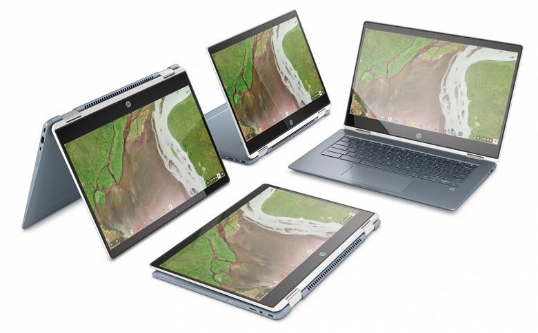 HP x360 14 — самый тонкий трансформируемый Chromebook в ассортименте HP