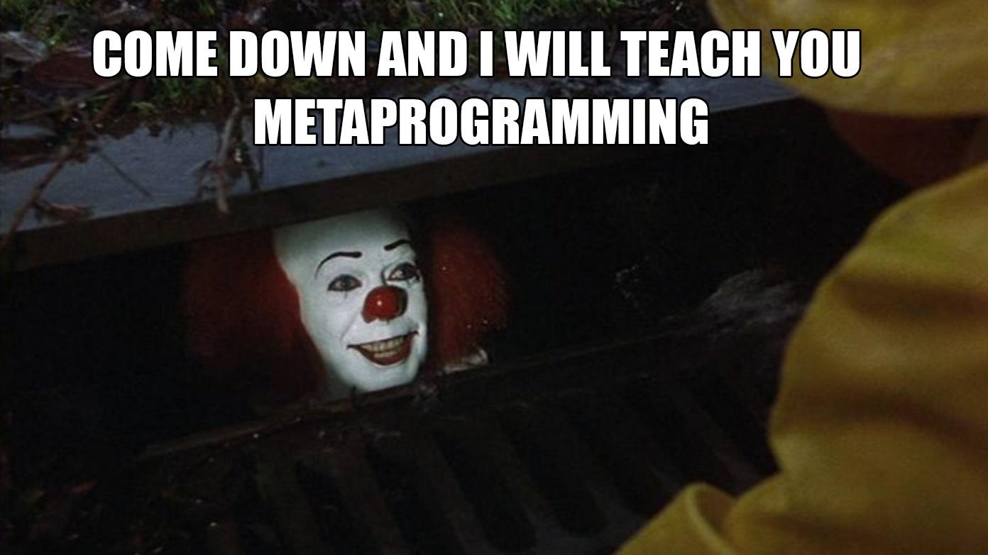 Python: метапрограммирование в продакшене. Часть первая - 1