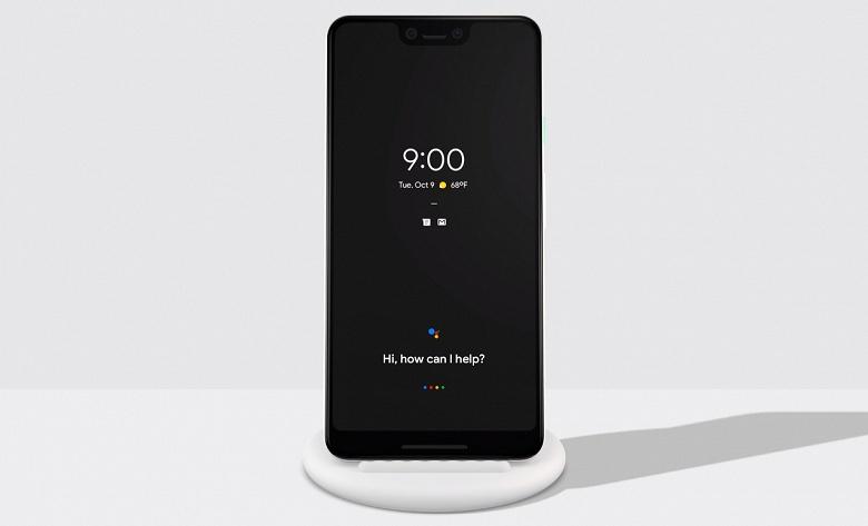 Представлена беспроводная зарядная станция Google Pixel Stand мощностью 10 Вт