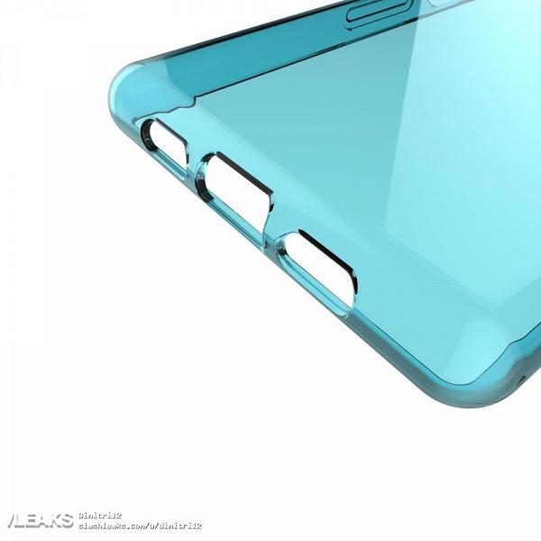 Чехол для Sony Xperia XA3/XA3 Ultra подтверждает расположение элементов на корпусе