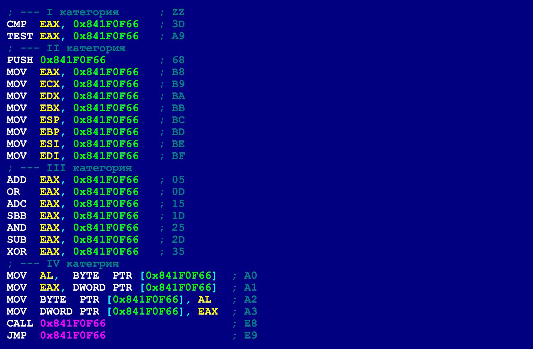 Как написать на ассемблере программу с перекрываемыми инструкциями (ещё одна техника обфускации байт-кода) - 10