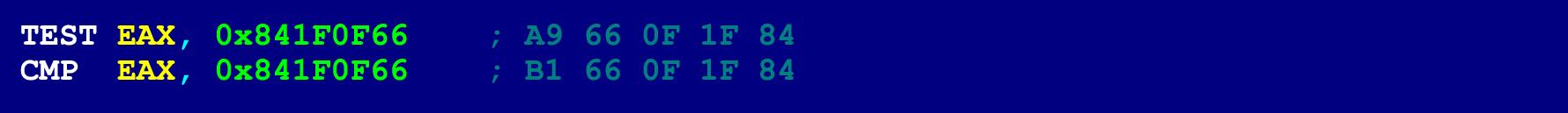 Как написать на ассемблере программу с перекрываемыми инструкциями (ещё одна техника обфускации байт-кода) - 11