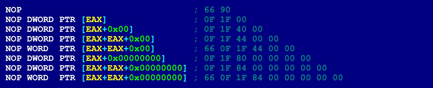 Как написать на ассемблере программу с перекрываемыми инструкциями (ещё одна техника обфускации байт-кода) - 8