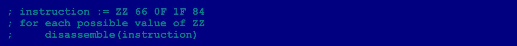 Как написать на ассемблере программу с перекрываемыми инструкциями (ещё одна техника обфускации байт-кода) - 9
