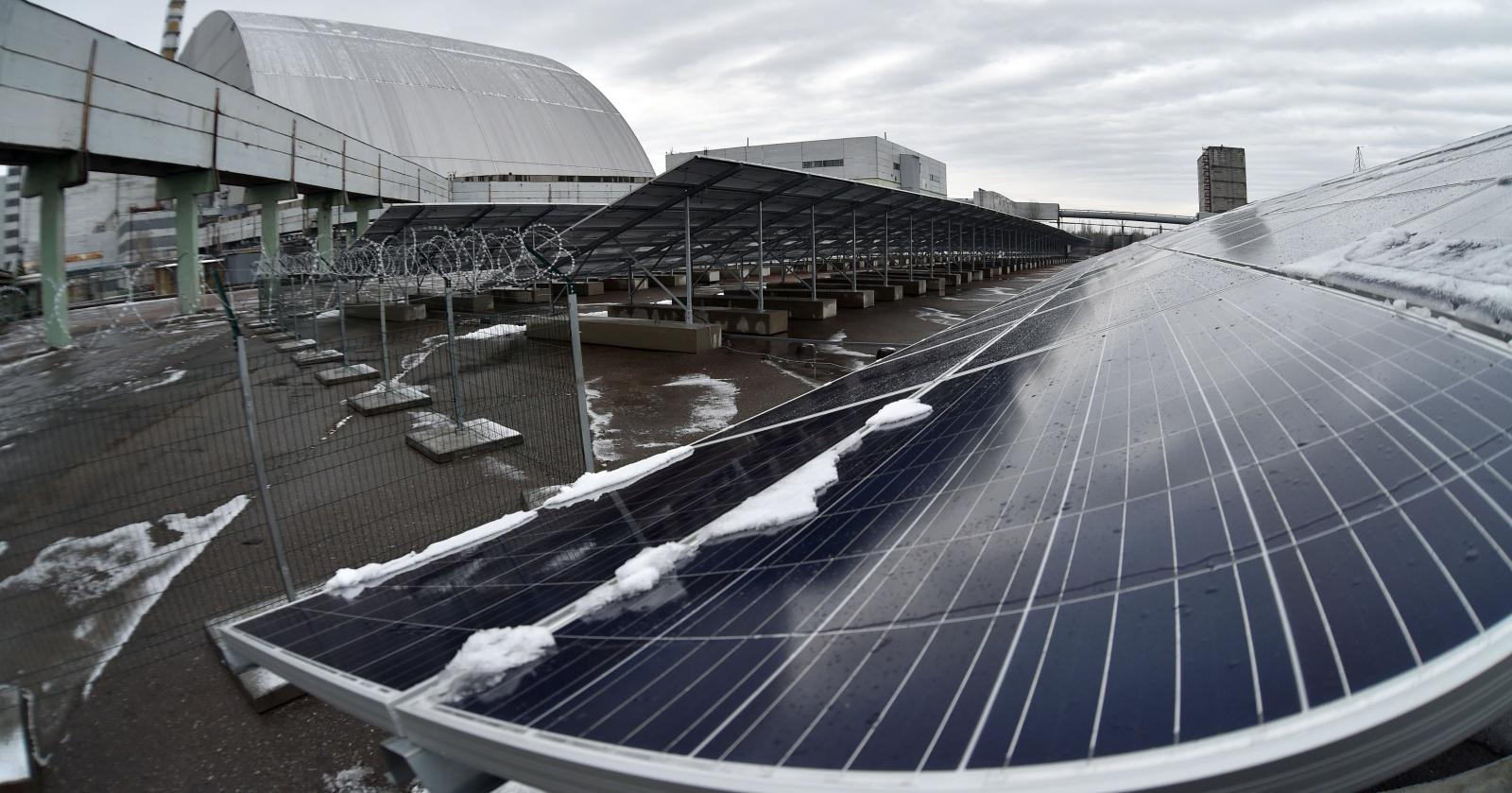 В Чернобыле появилась солнечная ферма: возрождение энергетики