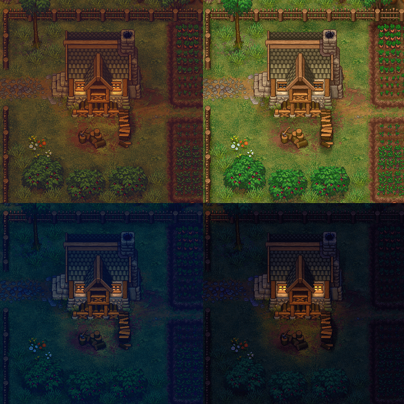 Под капотом Graveyard Keeper: Как реализованы графические эффекты - 5