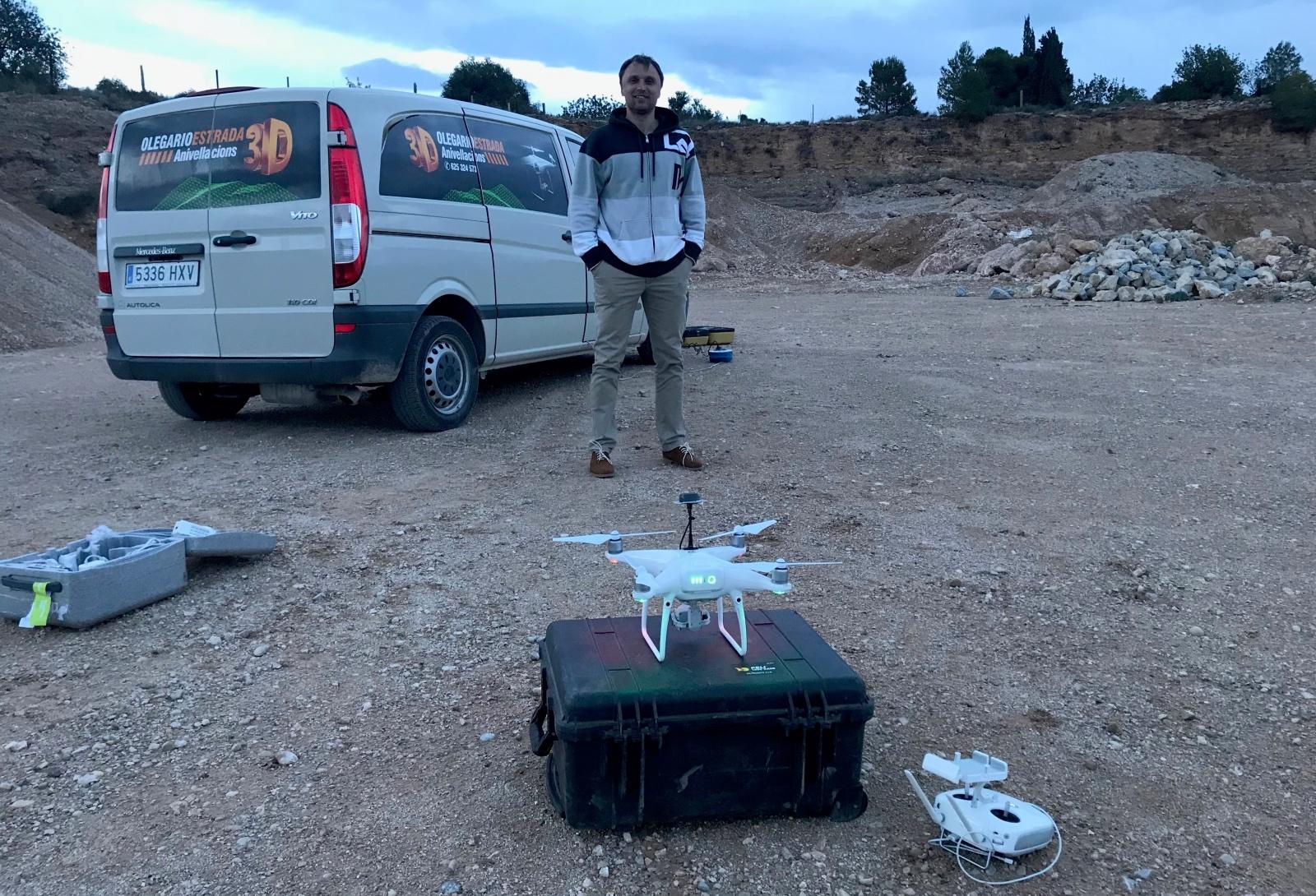 Применение перепиленных гражданских дронов для профессиональной геодезической аэрофотосъёмки местности - 1