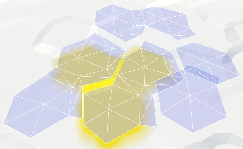 Карты из шестиугольников в Unity: вода, объекты рельефа и крепостные стены - 10