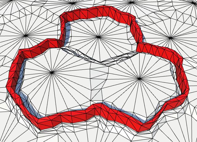 Карты из шестиугольников в Unity: вода, объекты рельефа и крепостные стены - 100