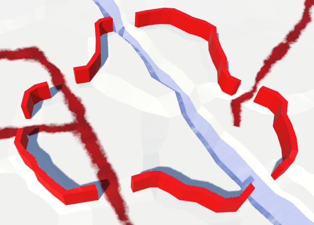 Карты из шестиугольников в Unity: вода, объекты рельефа и крепостные стены - 107