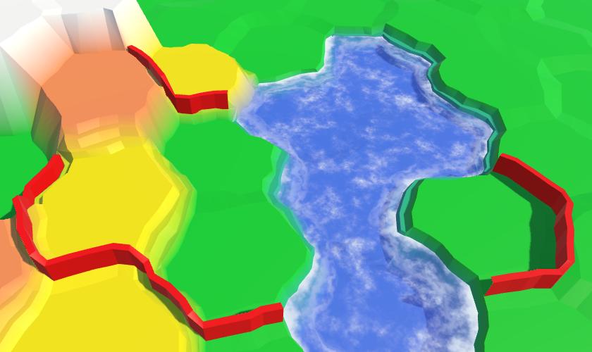 Карты из шестиугольников в Unity: вода, объекты рельефа и крепостные стены - 111