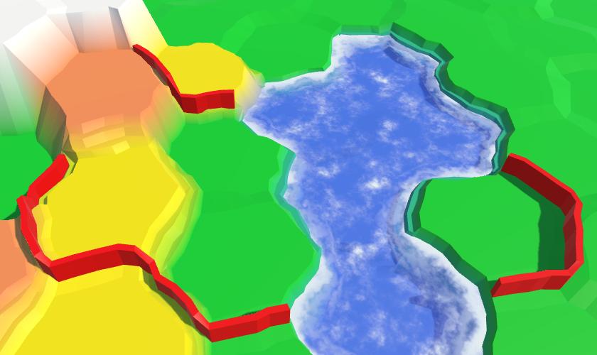 Карты из шестиугольников в Unity: вода, объекты рельефа и крепостные стены - 112
