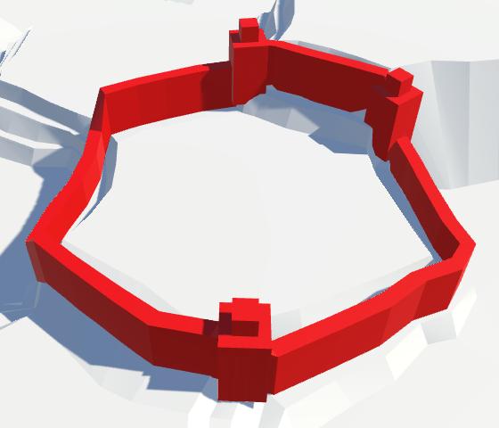 Карты из шестиугольников в Unity: вода, объекты рельефа и крепостные стены - 122