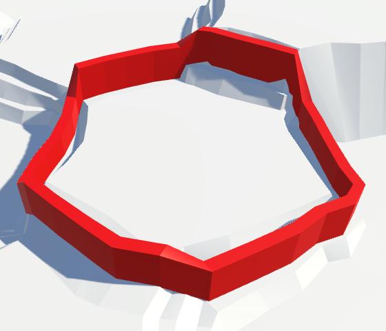 Карты из шестиугольников в Unity: вода, объекты рельефа и крепостные стены - 123