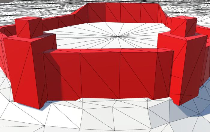 Карты из шестиугольников в Unity: вода, объекты рельефа и крепостные стены - 124