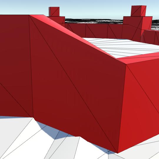 Карты из шестиугольников в Unity: вода, объекты рельефа и крепостные стены - 125