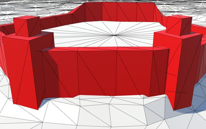 Карты из шестиугольников в Unity: вода, объекты рельефа и крепостные стены - 126