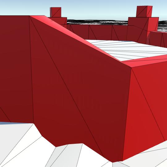 Карты из шестиугольников в Unity: вода, объекты рельефа и крепостные стены - 127