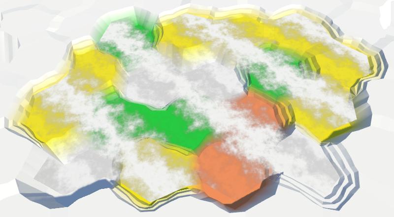 Карты из шестиугольников в Unity: вода, объекты рельефа и крепостные стены - 13