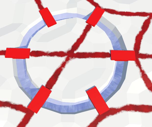 Карты из шестиугольников в Unity: вода, объекты рельефа и крепостные стены - 131