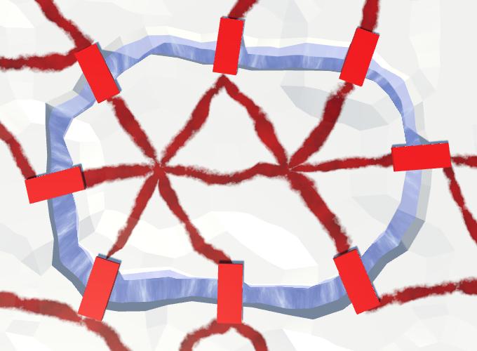 Карты из шестиугольников в Unity: вода, объекты рельефа и крепостные стены - 133