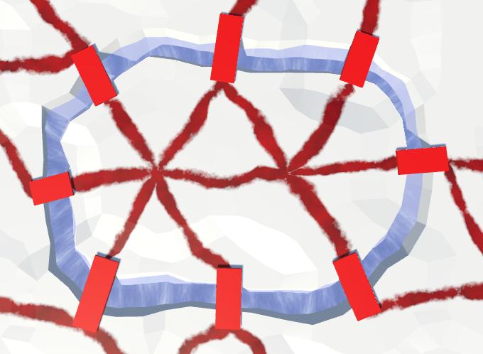 Карты из шестиугольников в Unity: вода, объекты рельефа и крепостные стены - 134